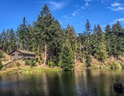 house at lake's end
