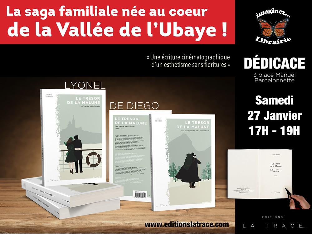 Dédicace librairie Imaginez Barcelonnette