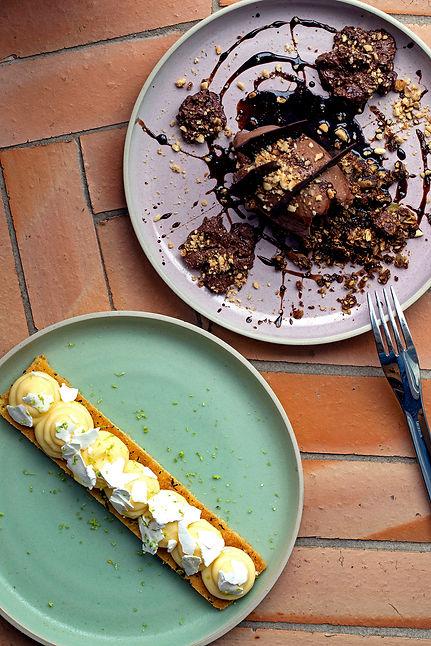 tarte au citron la riviera et le très ch