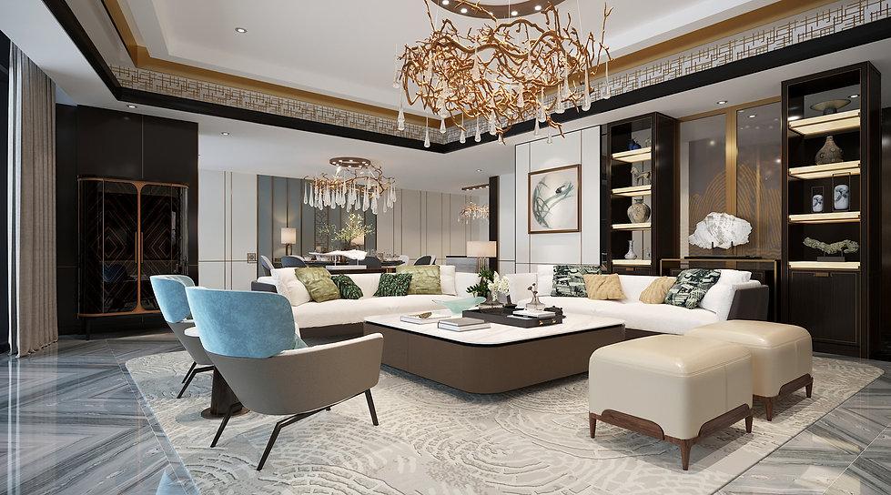 Presidential suite - Mandarin Oriental Hotel Wanfujing Beijing