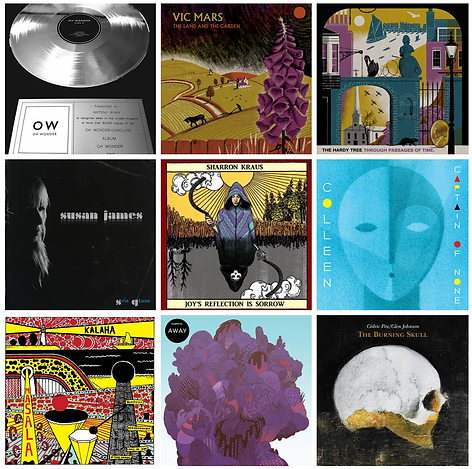 Selection of albums mastered at RedRedPaw