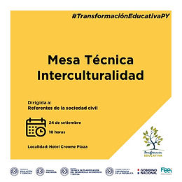 Mesa Técnica Interculturalidad