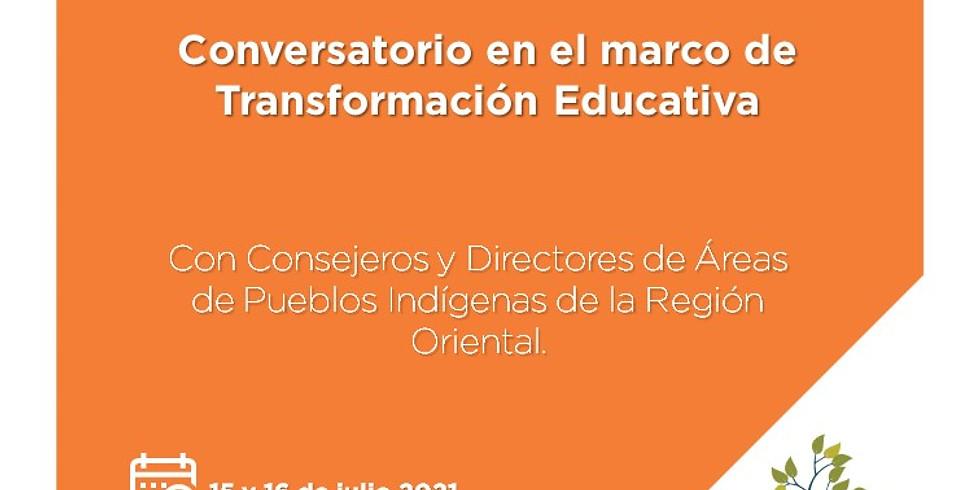 Conversatorio con Referentes de Áreas de Pueblos Indígenas