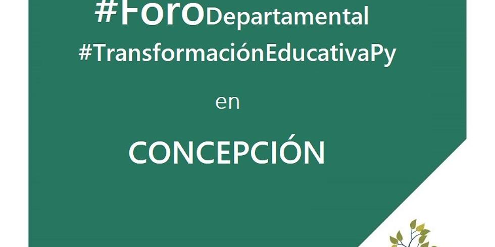 Foro departamental - Concepción