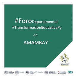 Foro departamental - Amambay