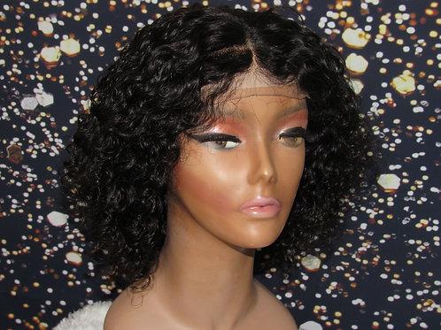 8 inch Handmade deep wave wig