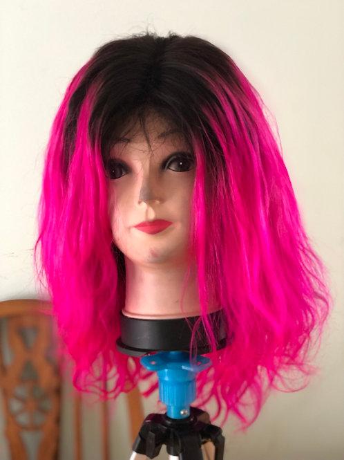 1b/pink wig 12inch