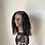 Thumbnail: 10 inch Handmade deep wave wig