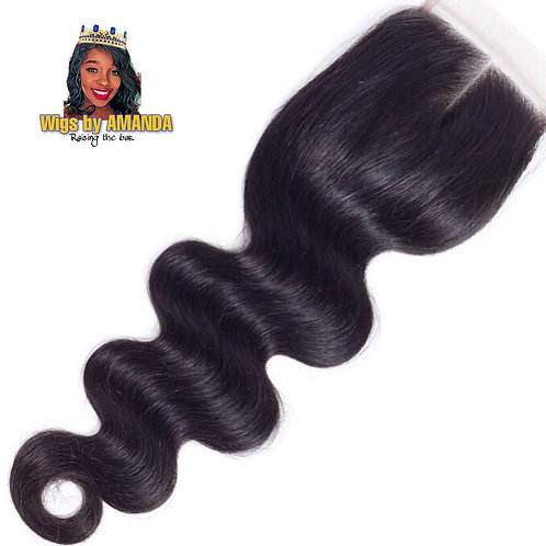 Body Wave 4*4 closure