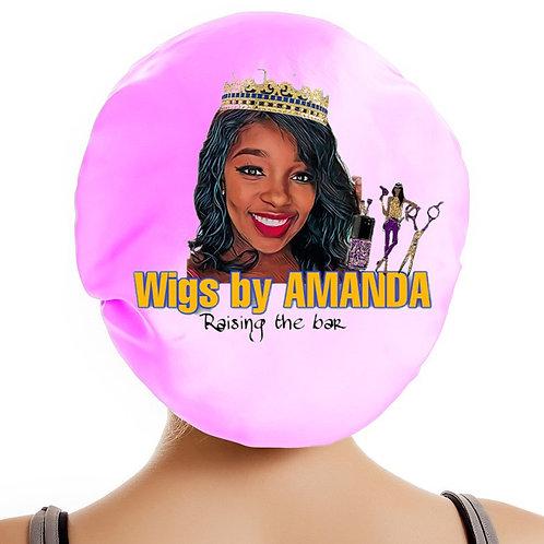 Wigs by Amanda double layer bonnet