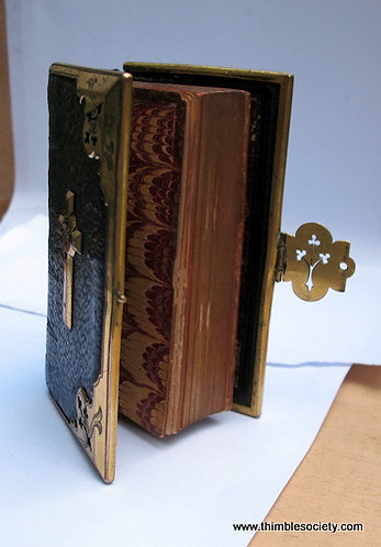 English prayer book, brass bound