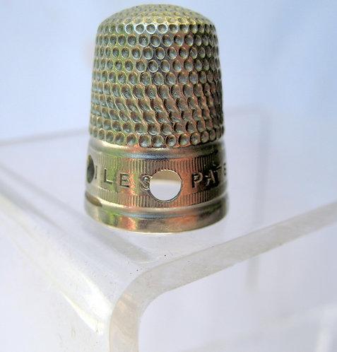 Isles Patent metal thimble