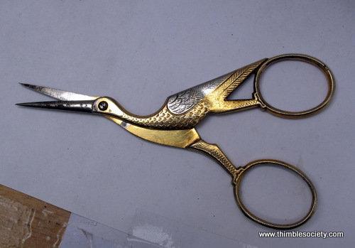 Steel stork scissors