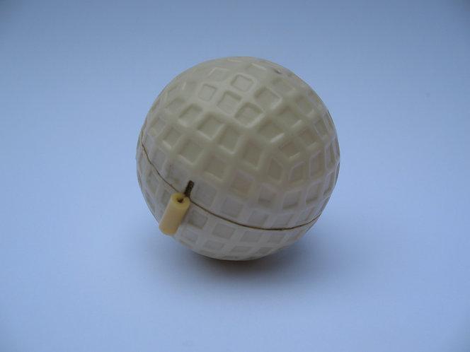 Tape measure, golf ball