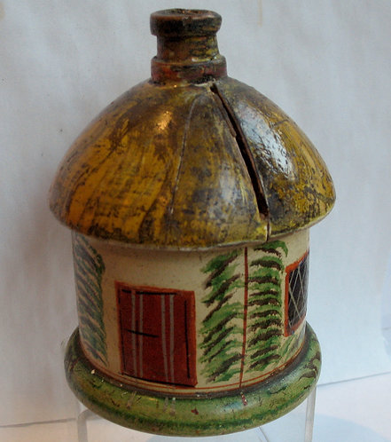Tunbridge ware money box