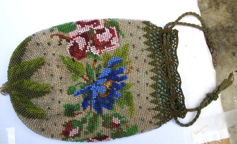 Bead work purse