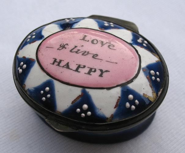 Love & live happy