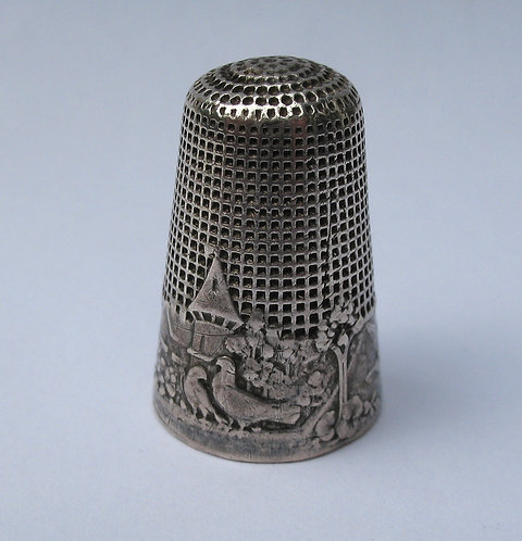 Silver thimble,the faithful doves.
