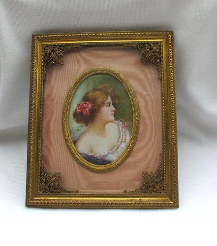 Minitaure portrait of a lady