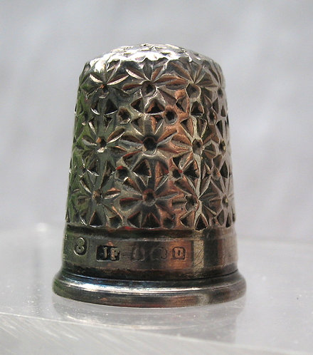 Silver thimble 1913