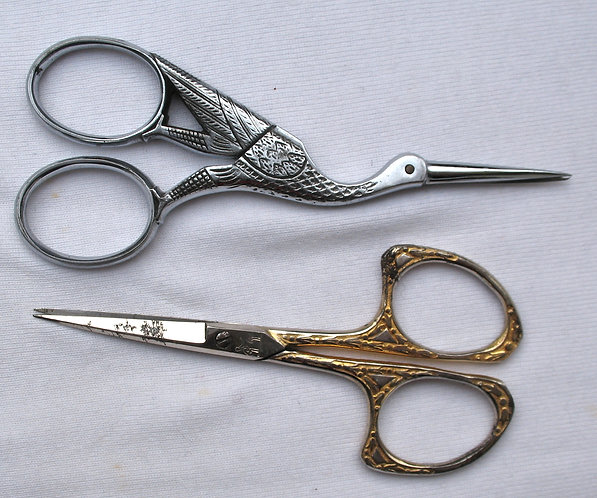 Two sets of scissors