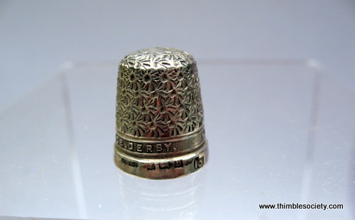 Silver thimble, 'Derby'