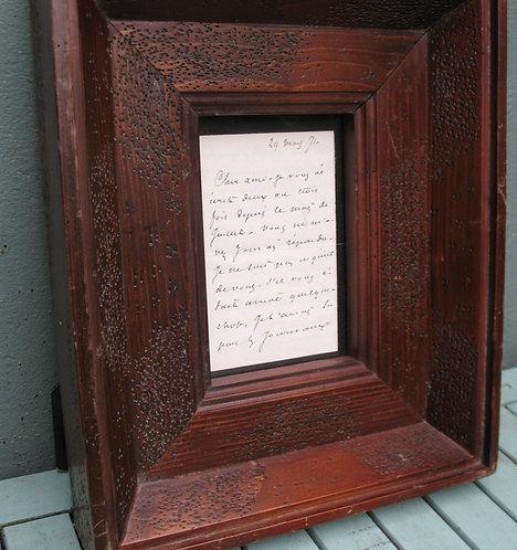Alexandre Dumas hand written letter