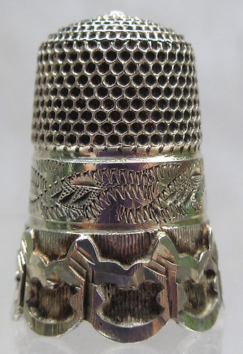 silver cable thimble