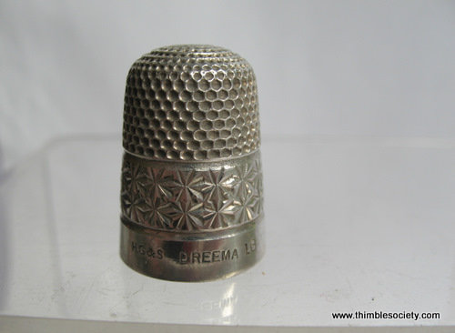 Silver cased Dreema thimble