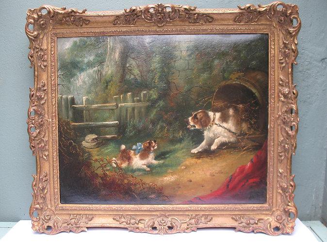 Oil Painting, British 19 cen.