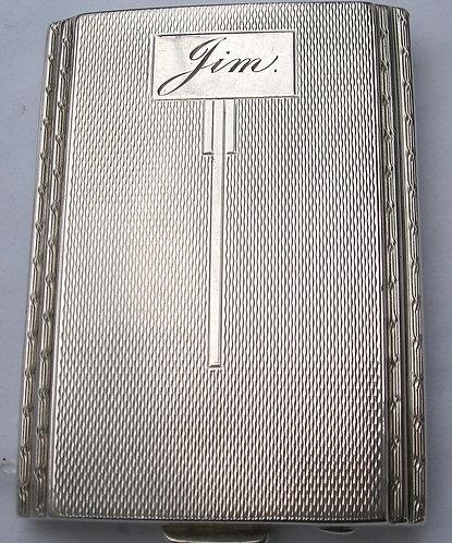 Jim' card case