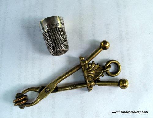 Child's brass skirt lift