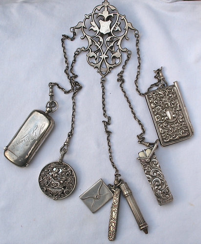 Silver Chatelaine c.1900