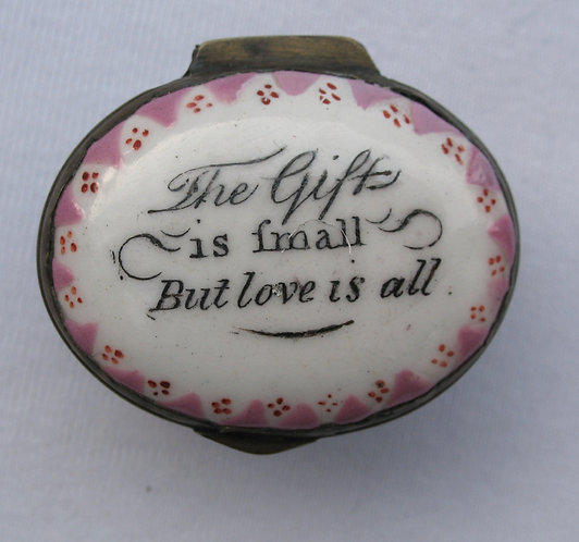 The Gift is small but love is all