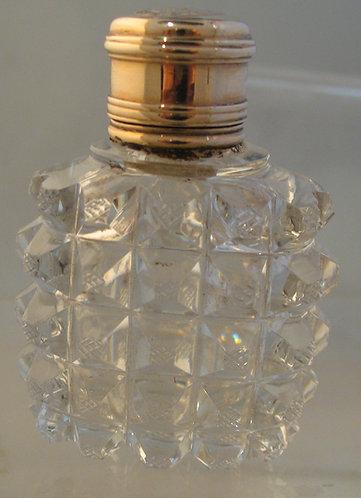 Deep cushion cut scent bottle