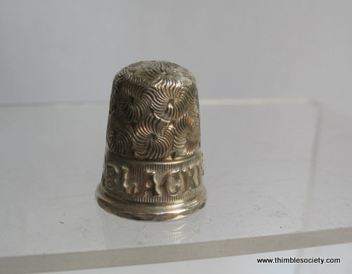 Silver thimble c.1922