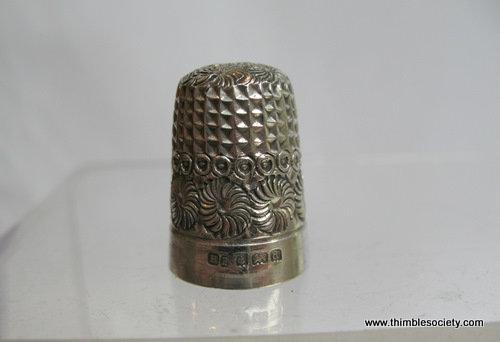 Silver thimble Z265