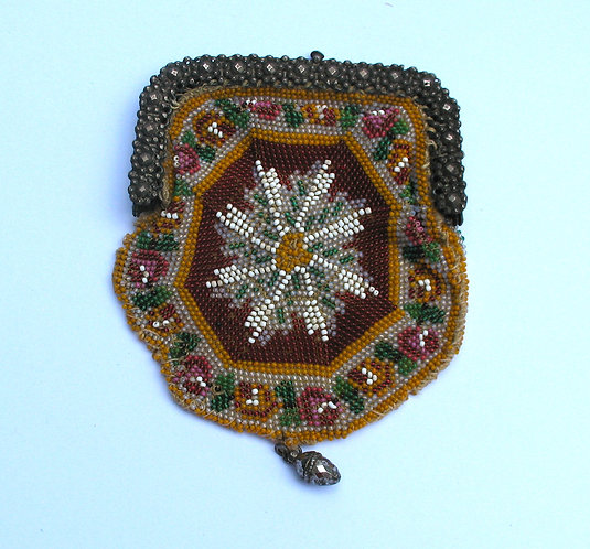 Purse, fine bead work.