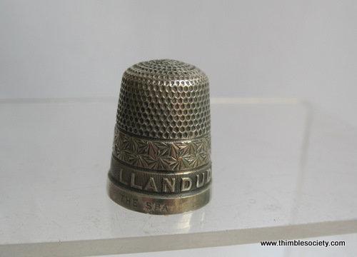Silver thimble, Llandudno