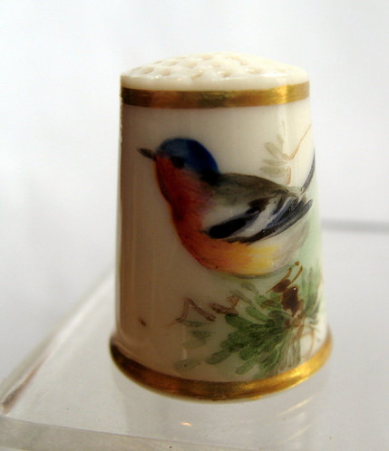 Early Worcester thimble