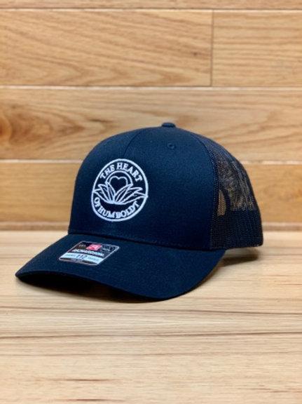 Black Trucker Hat