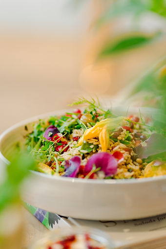 Cotswold Wedding Food Venue Salad