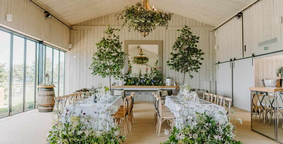 Cotswold Dining Wedding Barn Primrose Hill Farm