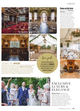 Wedding Venues & Fashion | Magazine