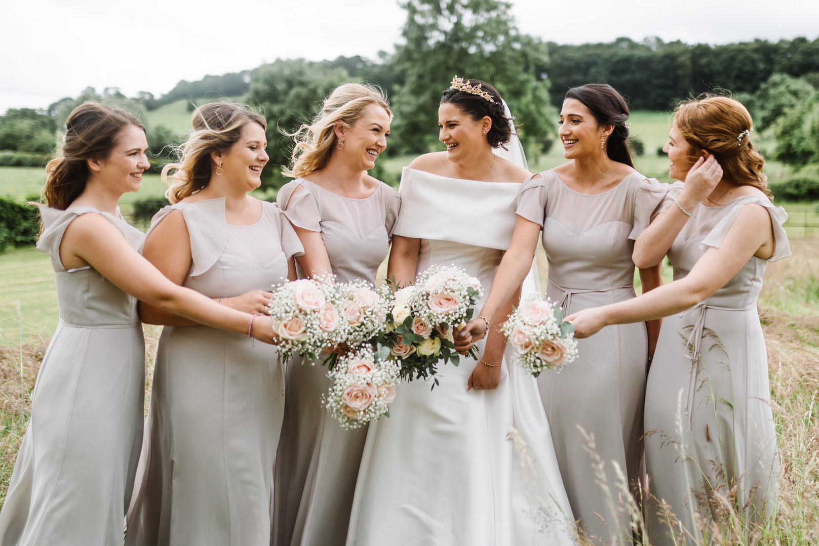 Bridesmaids by Chloe Ely Photography Wedding Photographer