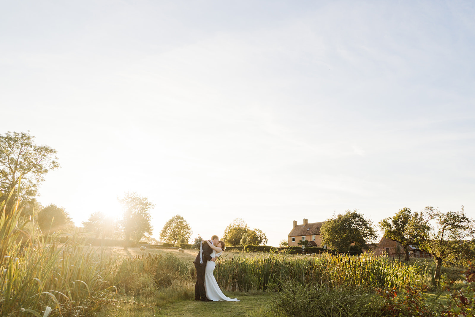 Couple at golden hour by Chloe Ely Photography Wedding Photographer