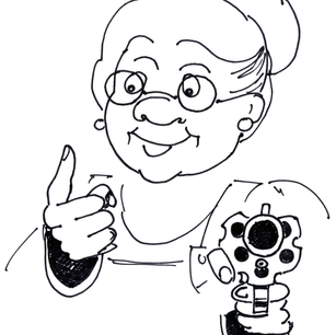 Armed Grandma