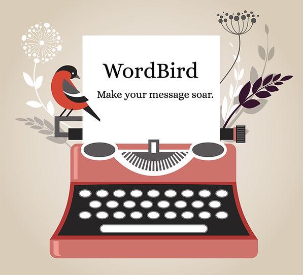 WordBird. Make your message soar.