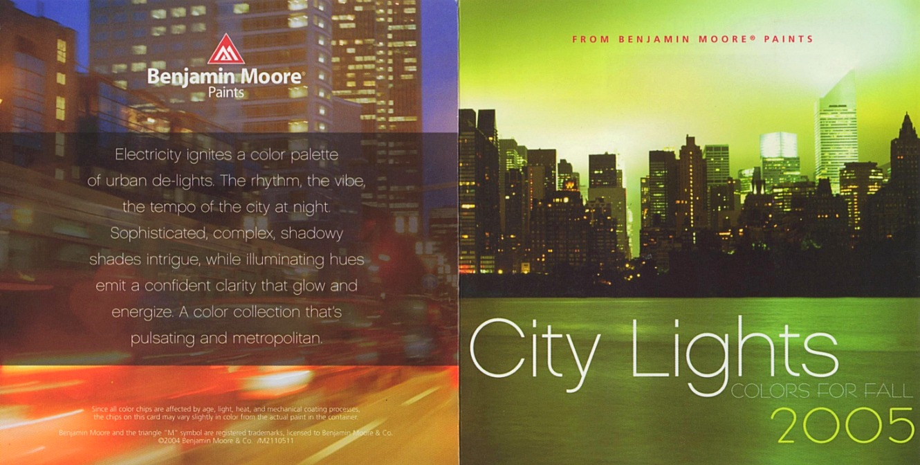 BM City Lights Color Card