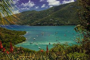 St. John vacation villa stunning view